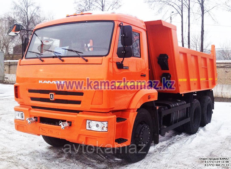 Самосвал КамАЗ 65115-776057-42 (Сборка РФ, 2017 г.)