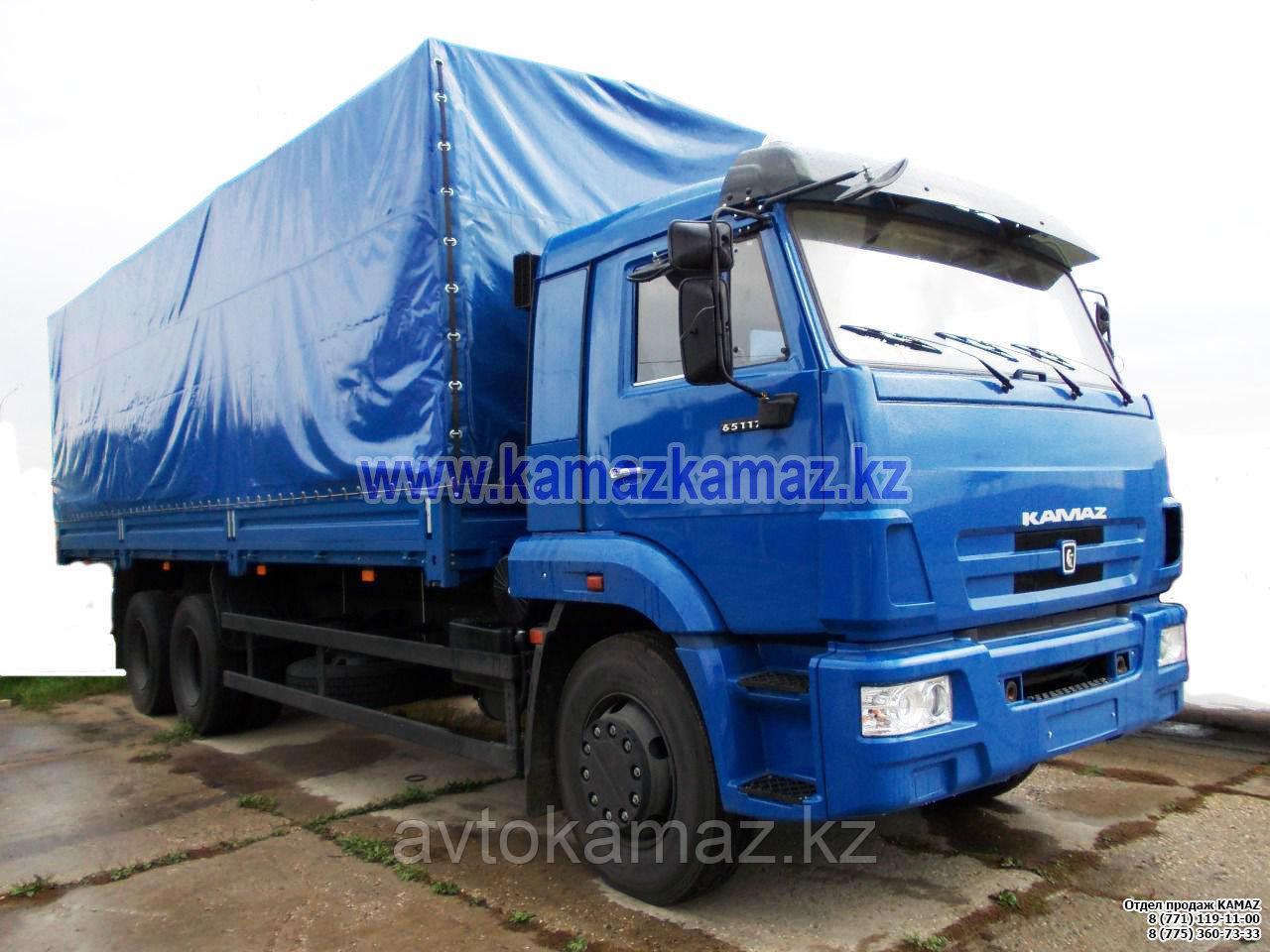 Бортовой грузовик КамАЗ 65117-776010-19 (Сборка РФ, 2017 г.)