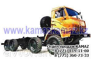 Шасси КамАЗ 63501-3025-40 (Сборка РФ, 2017 г.)