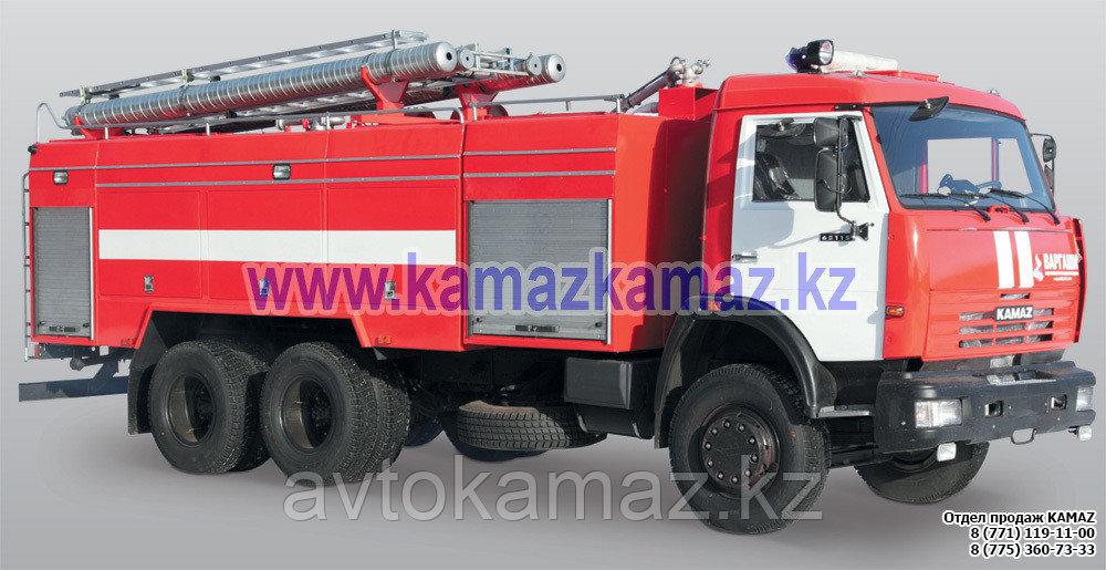 Автоцистерна пожарная КамАЗ АЦ 8.0-40 (Сборка РФ, 2017 г.)