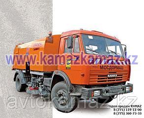 Подметально-уборочная машина КамАЗ KBR-K7K-01 (Сборка РФ, 2017 г.)