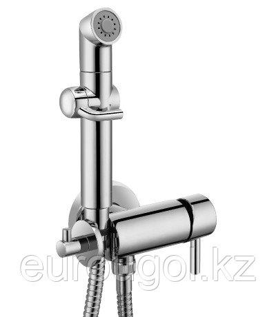 Встраиваемый смеситель с гигиеническим душем Lemark Solo LM7166C