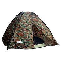 Палатка-автомат 2х местная, камуфляж, фото 1
