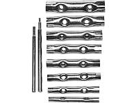 Набор DEXX: Ключи трубчатые, 6-22мм, 10 предметов