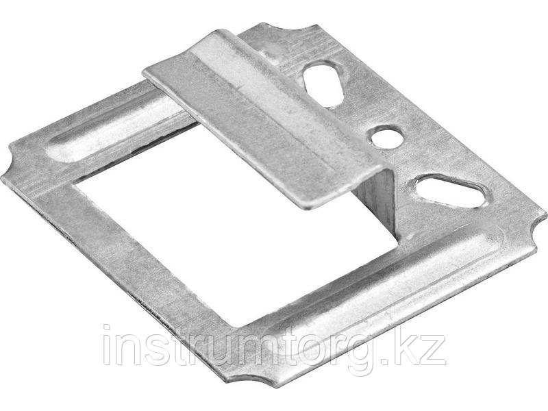 Крепеж усиленный для вагонки Кляймер-У, 8.0 мм, 25 шт, ЗУБР