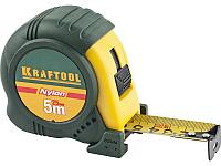 KRAFTOOL NYLON 5м / 25мм рулетка с ударостойким обрезиненным корпусом