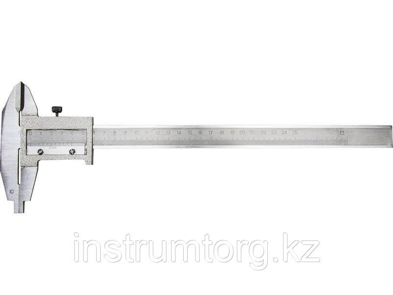 Штангенциркуль металлический тип 1,  250мм
