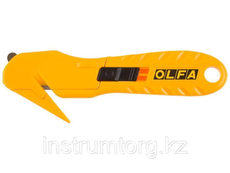 """Нож OLFA""""HOBBY CRAFT MODELS""""для хоз работ,безопасный,для вскрытия стрейч-пленки,пластиковых шинок и"""