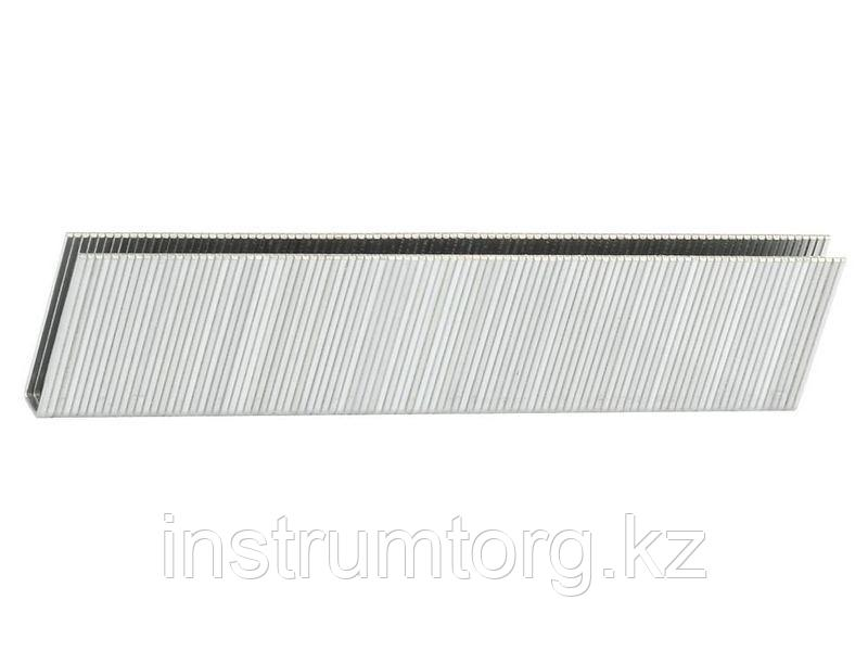 ЗУБР 25  мм скобы для степлера узкие тип 55, 3000 шт