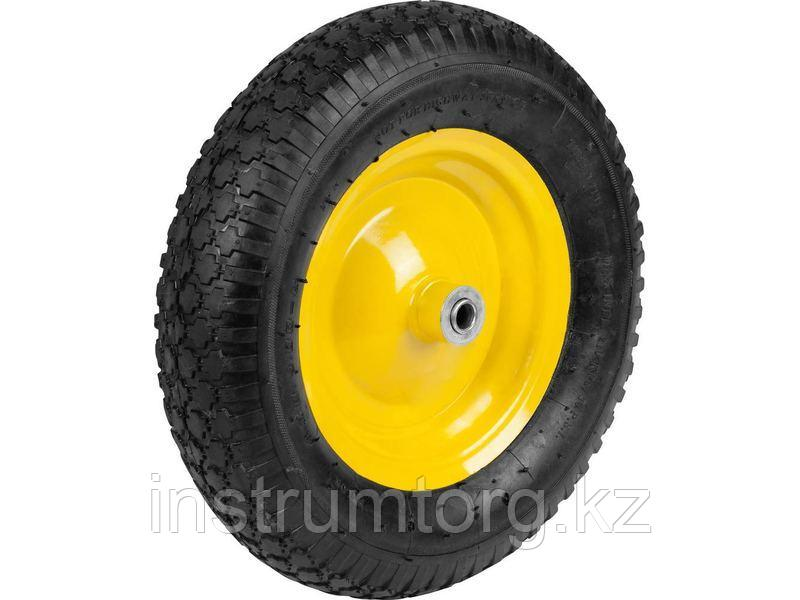 GRINDA колесо пневматическое для арт. 422392, 380 мм