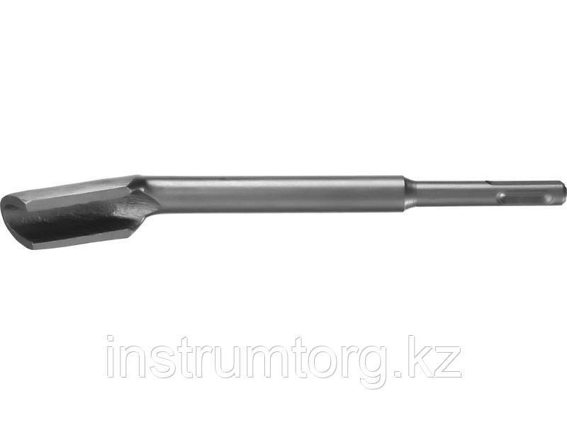 СИБИН SDS-plus Зубило-штробер полукруглое 22 x 200 мм