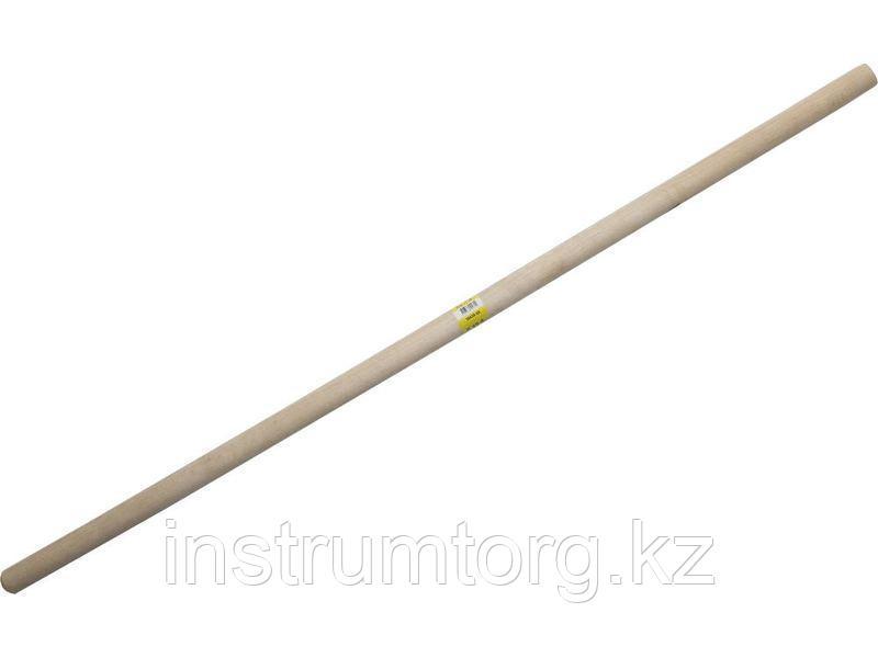 РОССИЯ черенок деревянный для снеговых лопат 2-й сорт, 32х1200мм
