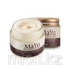 Лечебный восстанавливающий крем для лица Secret Key Mayu Healing Facial Cream,50мл