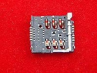 Разъемы для 2 Mini-SIM-карт (16×14x2.4 мм)