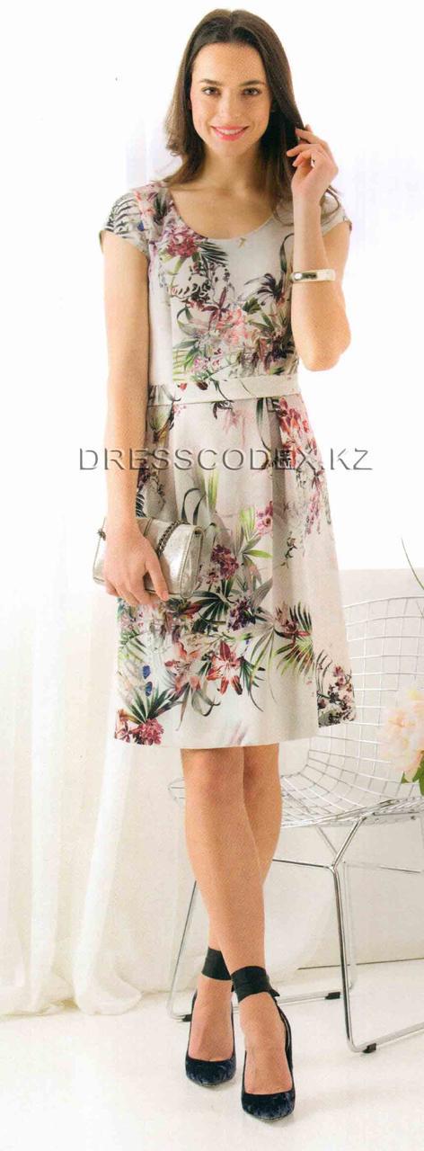 Платье цветы - фото 1