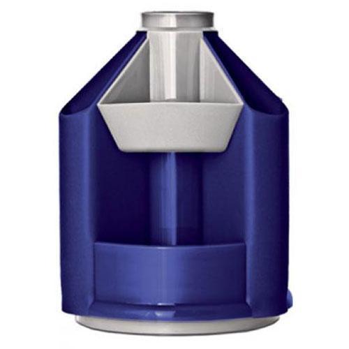 Органайзер СТАММ MINI DESK, 10 отделений, металлик темно-синий