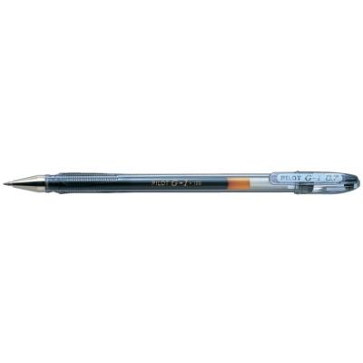 Ручка гелевая Pilot G-1 GEL TYPE INK METALLIC 0,7 мм, черный