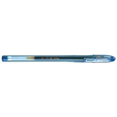Ручка гелевая Pilot G-1 GEL TYPE INK METALLIC 0,7 мм, синий