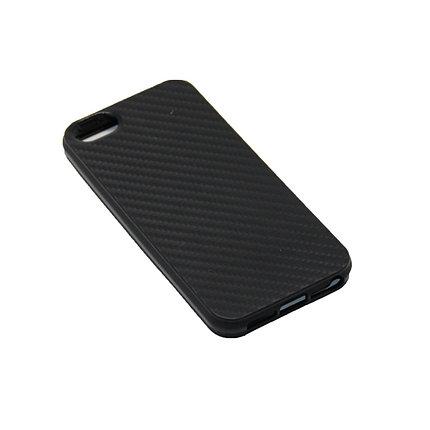 Чехол Силиконовый Карбон iPhone 5, 5S, SE, фото 2
