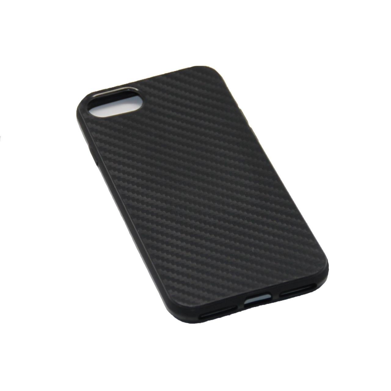 Чехол Силиконовый Карбон iPhone 7