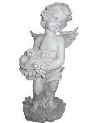 Статуэтка Ангел с фруктами H-50см