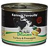 Влажный корм для собак всех пород Kennels' Favourite индейка с ананасом