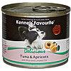 Влажный корм для собак всех пород Kennels' Favourite тунец с абрикосами