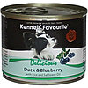 Влажный корм для собак всех пород Kennels' Favourite утка с голубикой