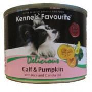 Влажный корм для собак всех пород Kennels' Favourite телятина с тыквой