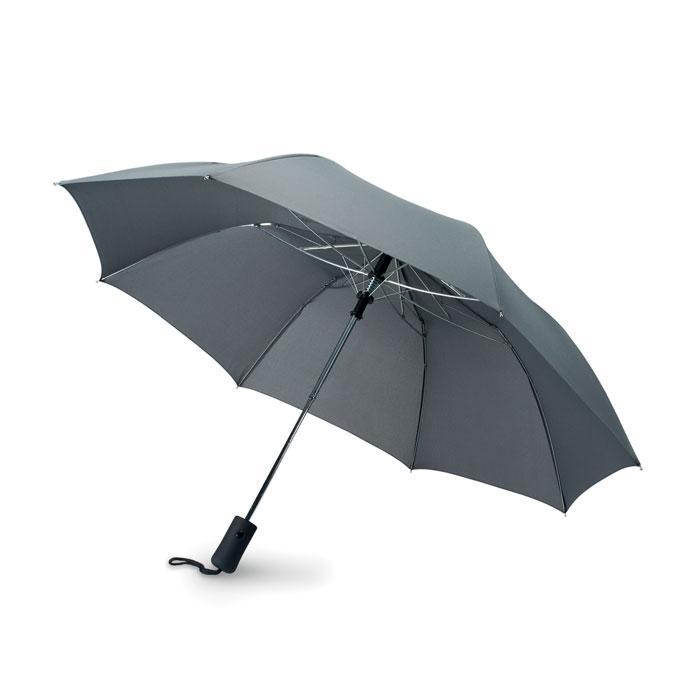 Зонт полуавтомат в 2 сложения