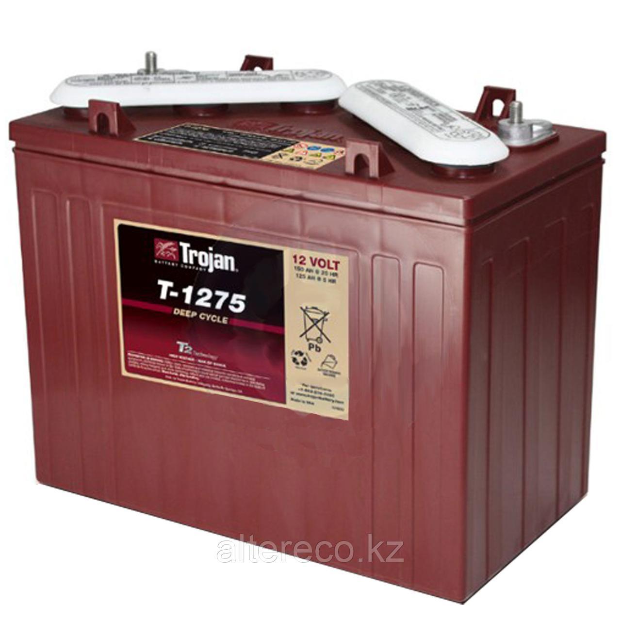 Тяговый аккумулятор Trojan T-1275+ (12В, 150Ач)