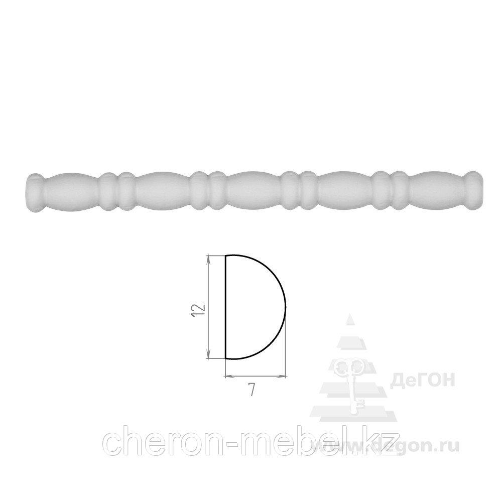 Молдинг Ширина 12 мм. Толщина 7 мм.