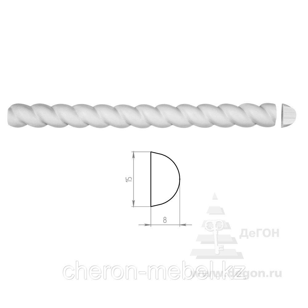 Молдинг Ширина 15 мм. Толщина 8 мм.