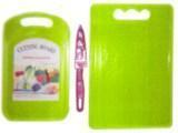 Набор пластиковых досок + нож большой
