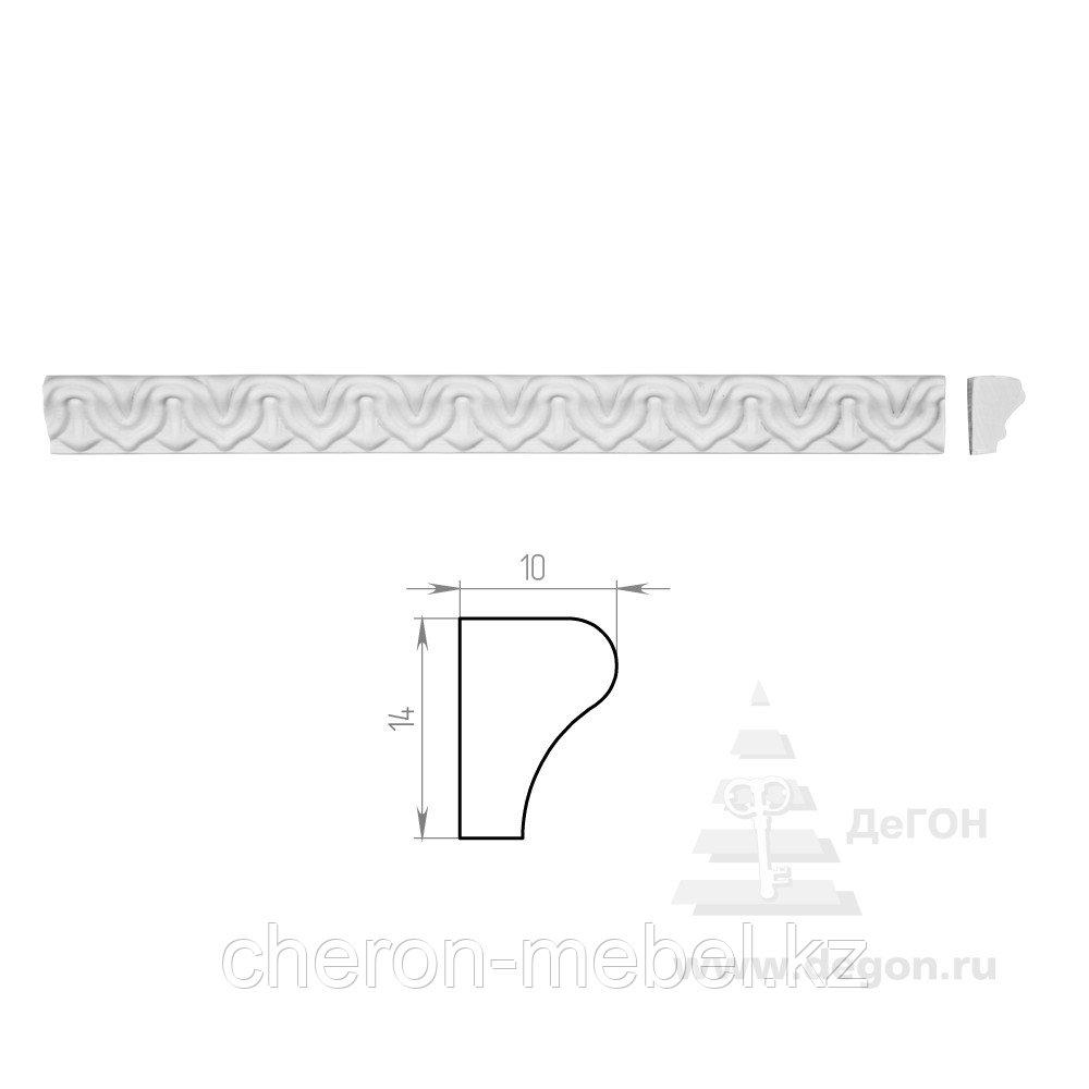 Молдинг Ширина 14 мм. Толщина 10 мм.