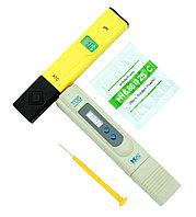 SET001 Набор HM Digital солемер и pH метр с калибровочным раствором pH