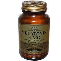 Solgar, Мелатонин, 3 мг, 120 таблеток