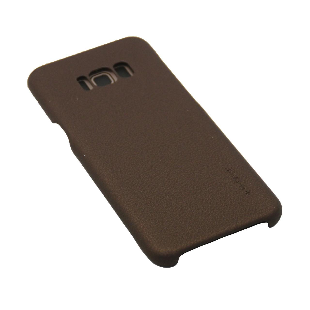 Чехол G-Case Кожа Монолит Samsung S8 Plus