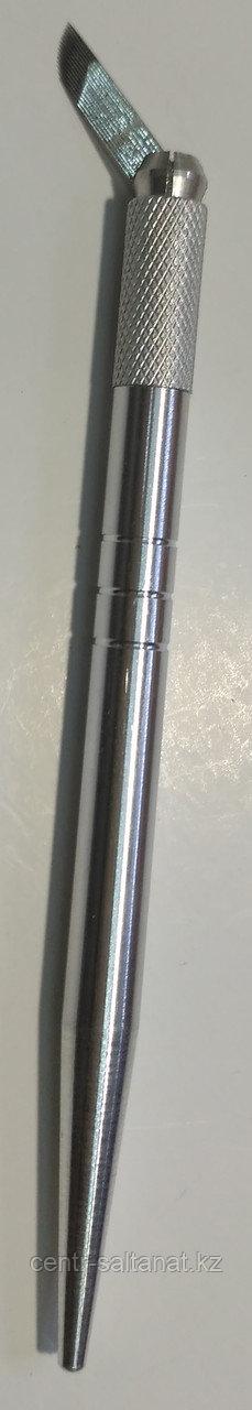 Ручка - манипула для микроблейдинга, волоскового перманентного макияжа, татуажа бровей)
