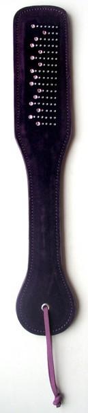 ШЛЕПАЛКА цвет фиолетовый, (текстиль)
