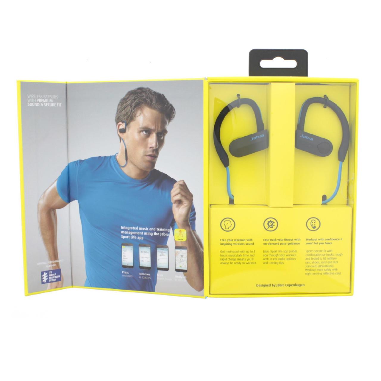Наушники Jabra Sport Pace Wireless Bluetooth
