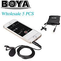 Петличный микрофон для смартфона Boya BY-LM10