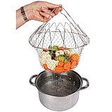 Складная решетка для приготовления пищи Chef Basket, фото 3