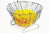 Складная решетка для приготовления пищи Chef Basket, фото 4