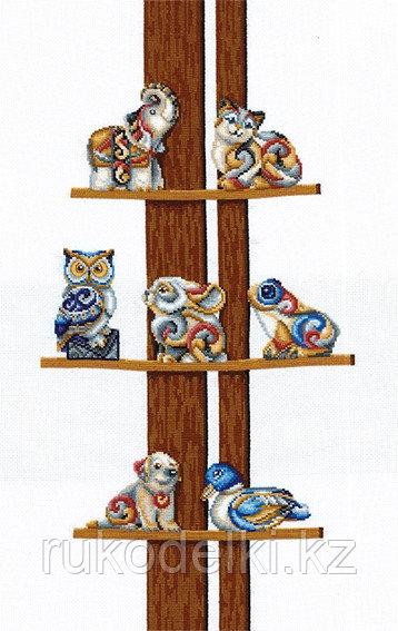 """Набор для вышивания крестом """"Коллекция статуэток"""""""