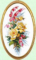 """Набор для вышивания крестом """"Розовый этюд"""""""