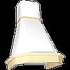 Кухонная вытяжка Elikor Камин Грань 90П-650 бежевый/дуб бел. патина