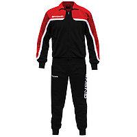 Костюм спортивный тренировочный  TUTA AFRICA красно-чёрный