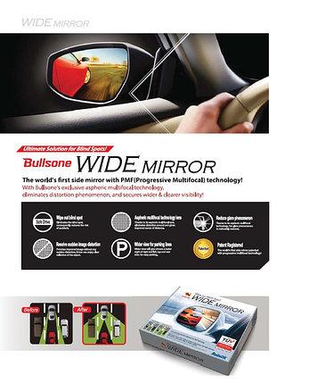 Боковое зеркало широкого обзора (Bullsone wide mirror), фото 2