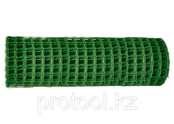 Заборная решётка в рулоне 1,2х20 м ячейка 40х40 мм // Россия, фото 2